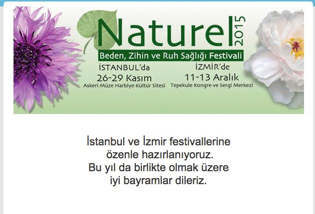 NATUREL 2015 Festivali'nde Workshop
